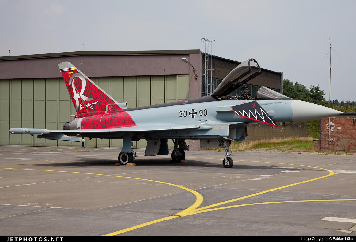 30-90   Eurofighter Typhoon EF2000   Germany - Air Force   Fabian