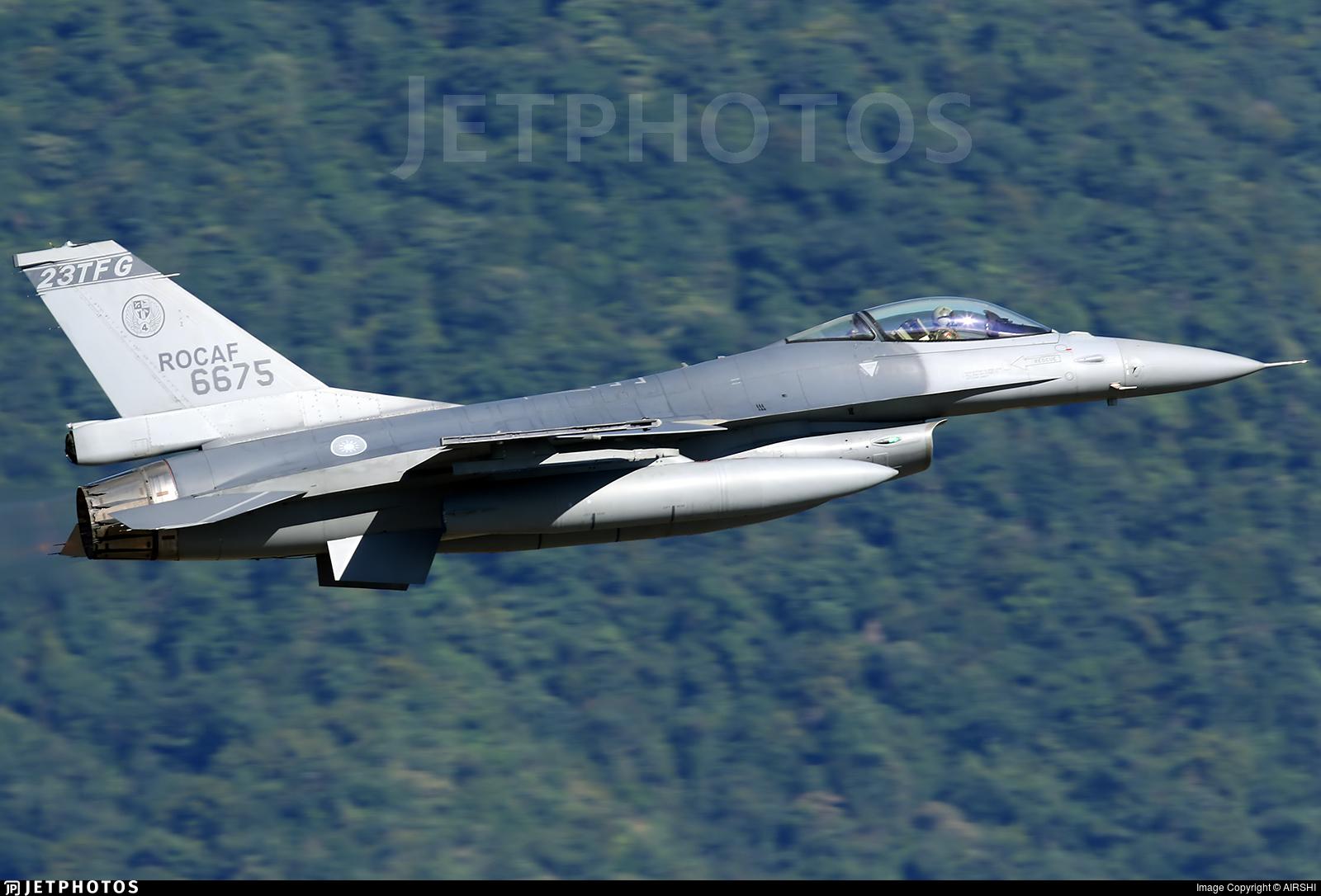 6675 - General Dynamics F-16AM Fighting Falcon - Taiwan - Air Force