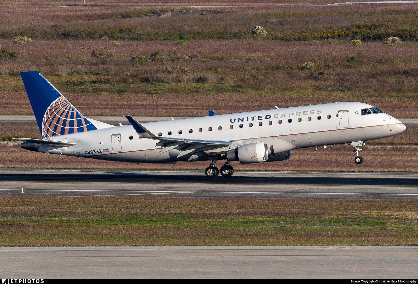 N88332 - Embraer 170-200LR - United Express (Mesa Airlines)