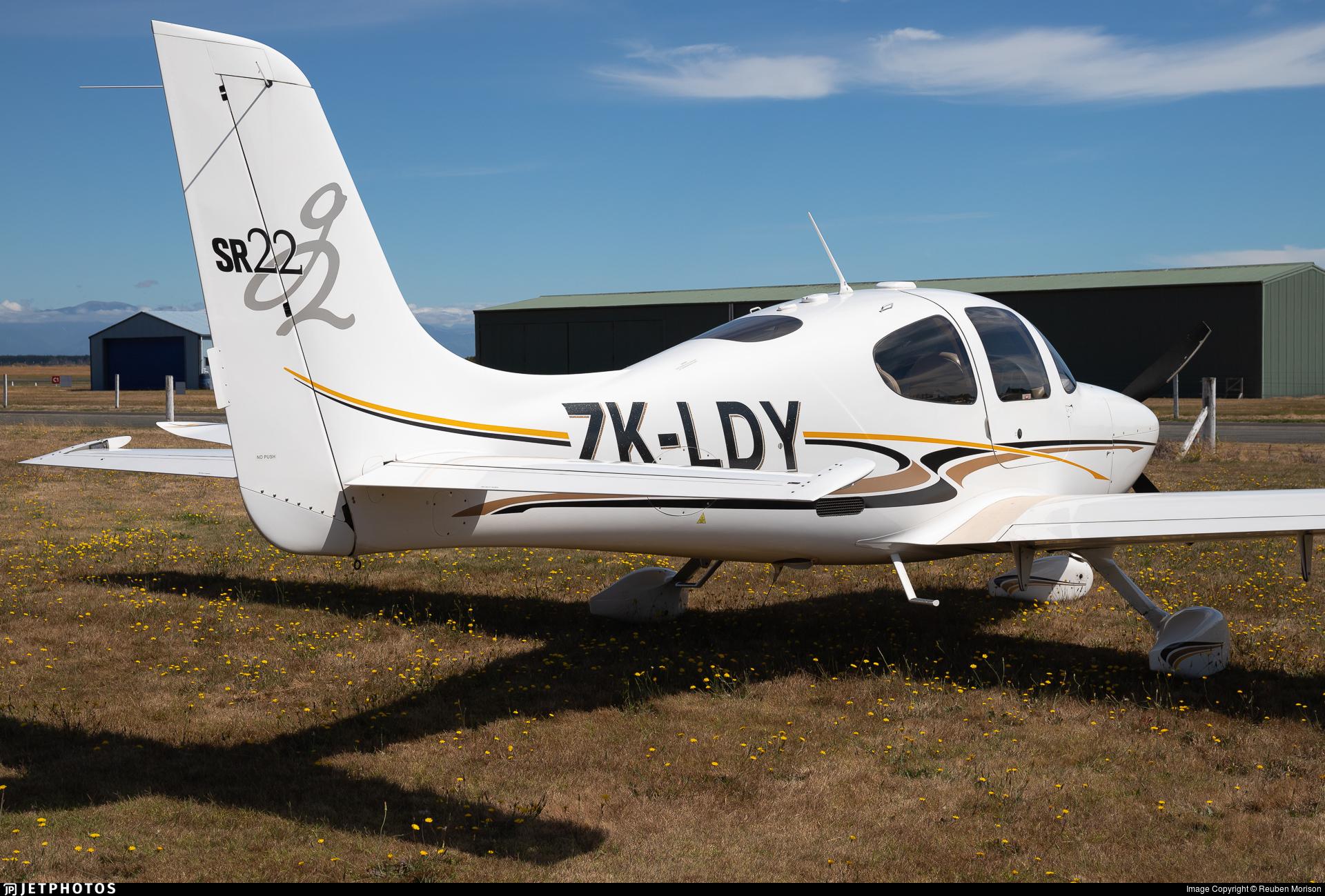 ZK-LDY - Cirrus SR22-G2 - Private