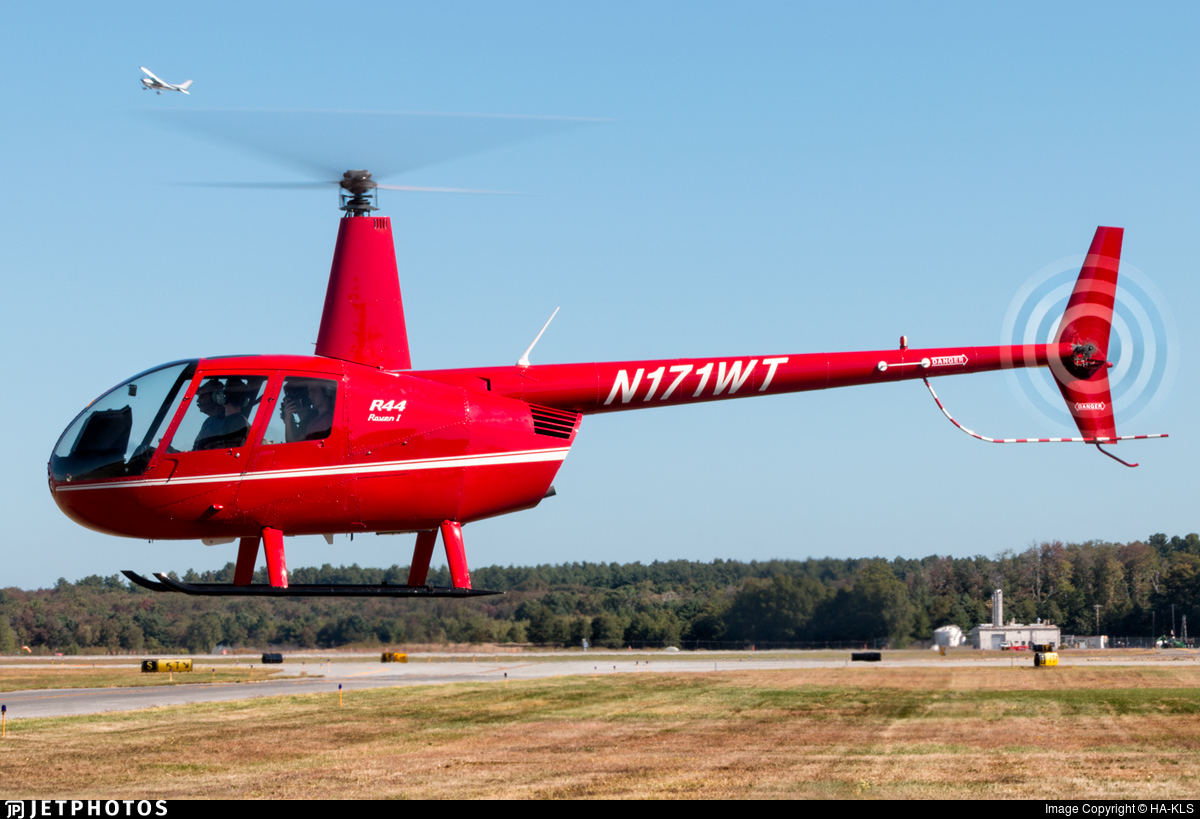 N171WT - Robinson R44 Raven - Private