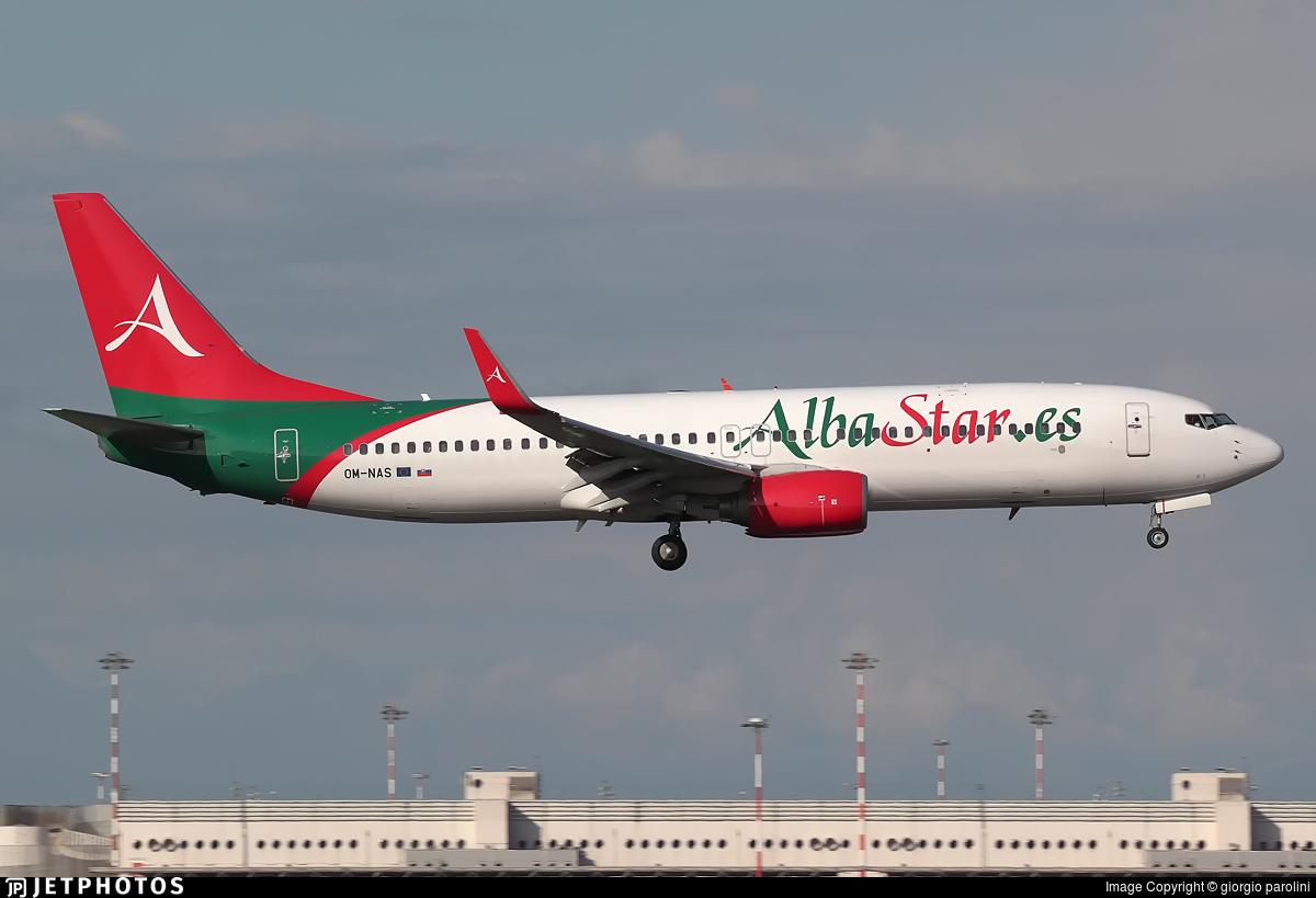 OM-NAS - Boeing 737-86J - AlbaStar (AirExplore)
