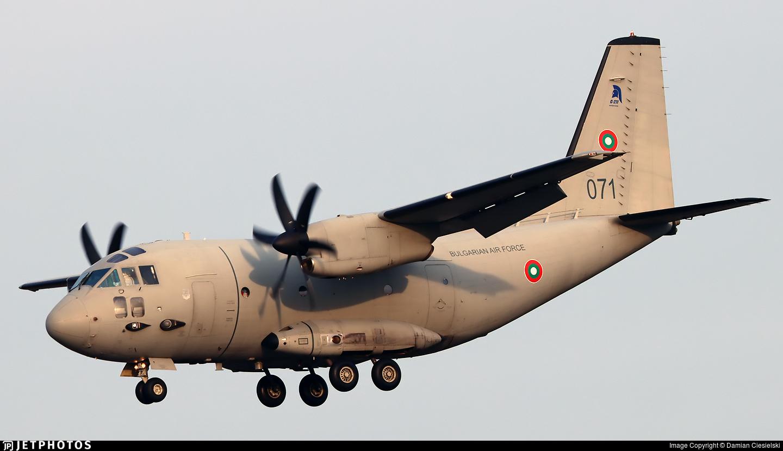 071 - Alenia C-27J Spartan - Bulgaria - Air Force