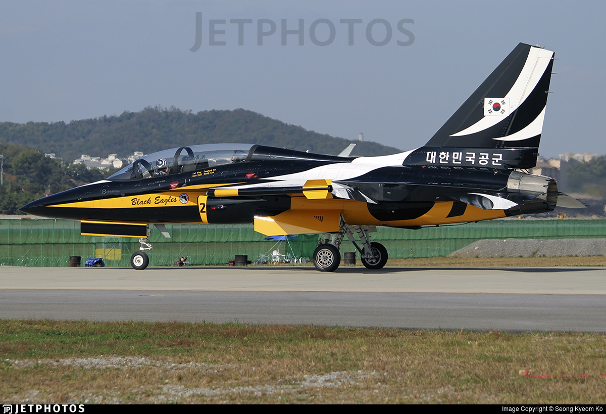 10-0055 - KAI T-50 Golden Eagle - South Korea - Air Force