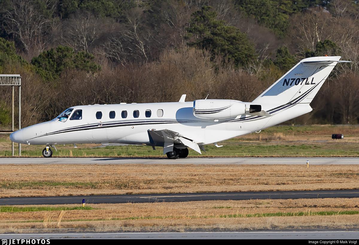 N707LL - Cessna 525A CitationJet 2 - Private