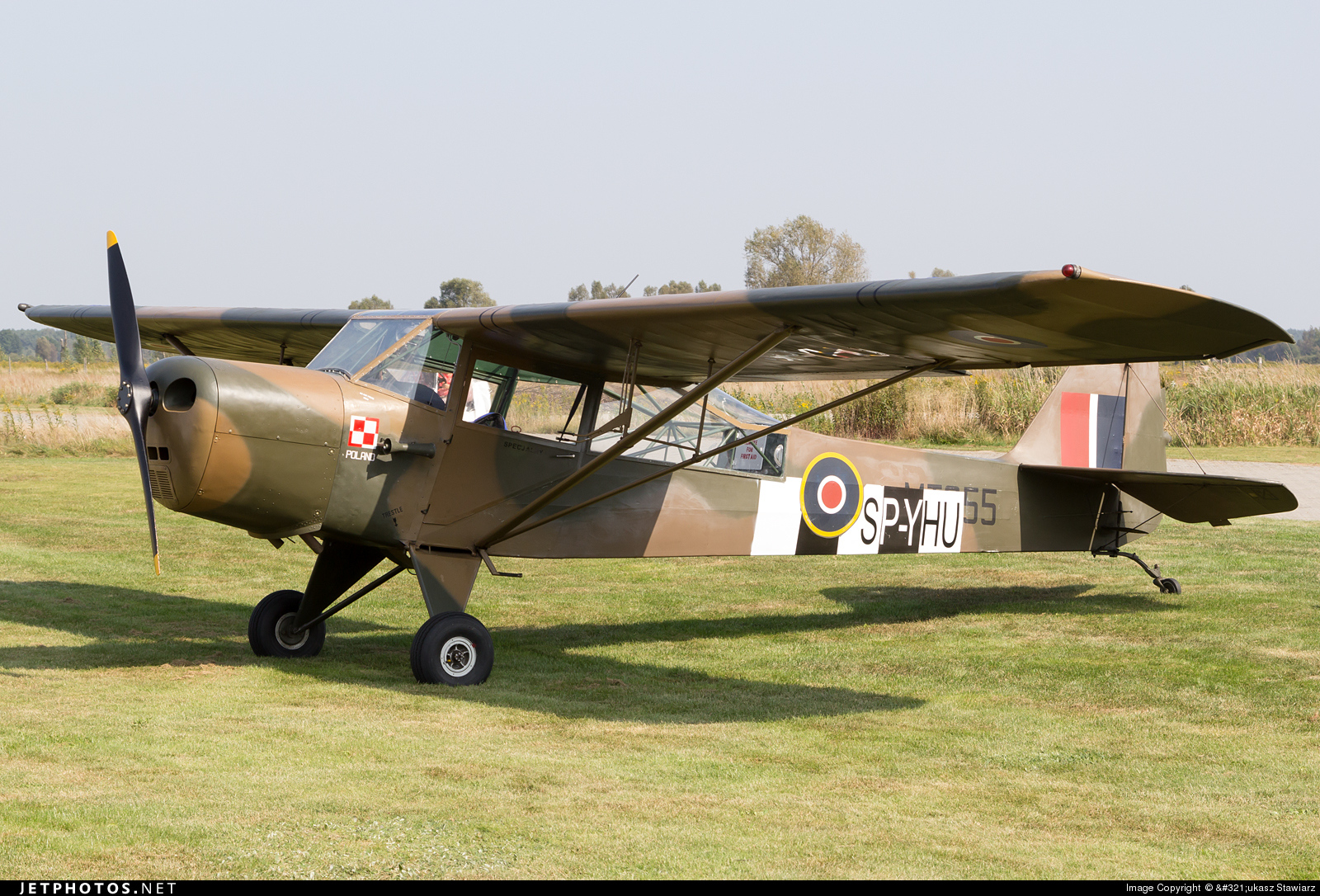 SP-YHU - Auster J4 - Private