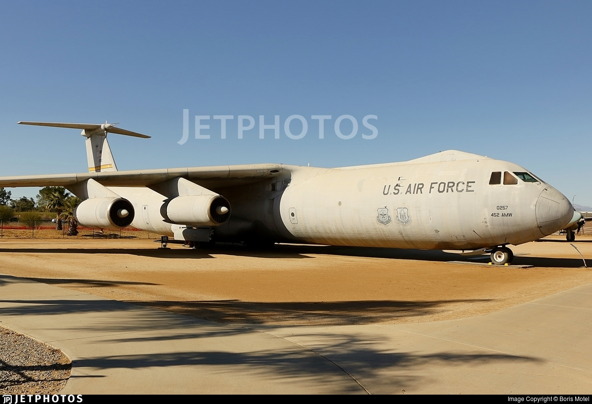 65-0257 - Lockheed C-141B Starlifter - United States - US Air Force (USAF)