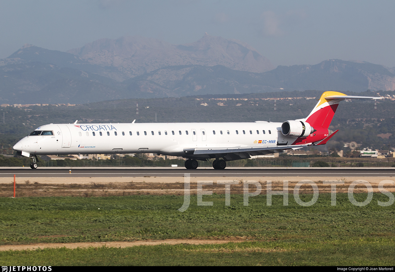 EC-MNR - Bombardier CRJ-1000 - Croatia Airlines (Air Nostrum)