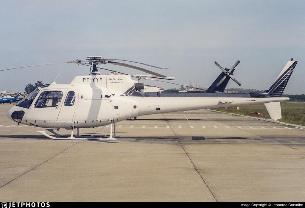 PT-YYY - Helibrás HB-350BA Esquilo - Heli-Rio Táxi Aéreo