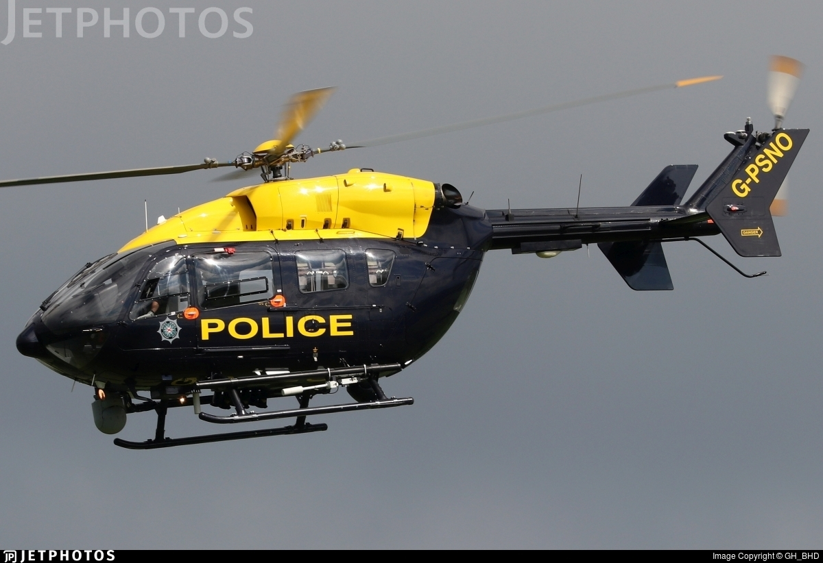G-PSNO - Eurocopter EC 145 - United Kingdom - Police