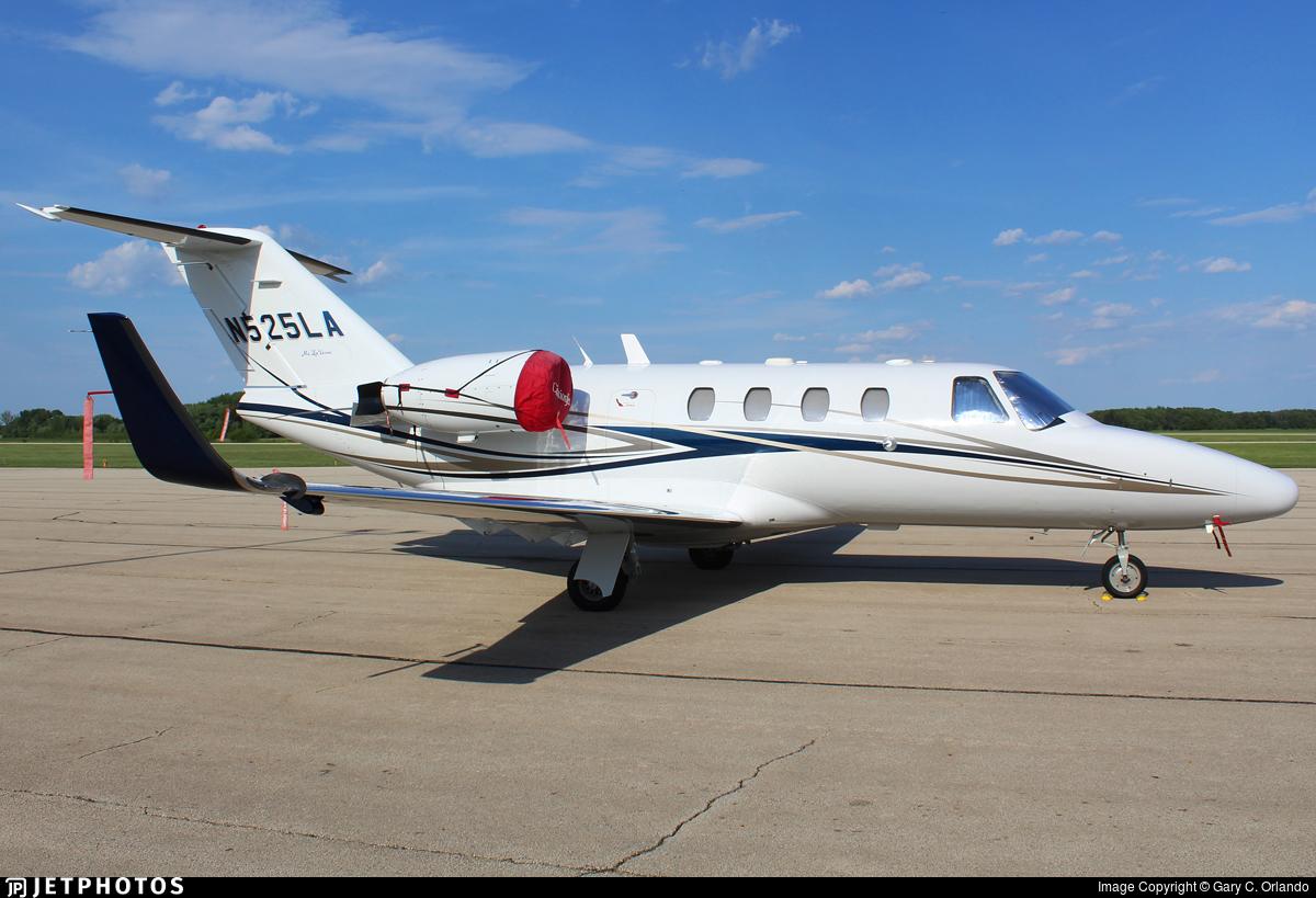N525LA - Cessna 525 Citationjet CJ1 - Private