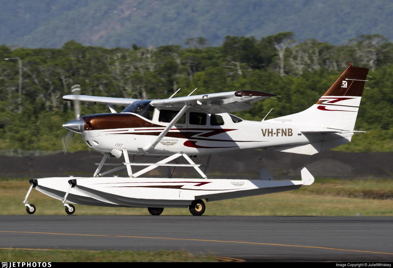 VH-FNB - Cessna T206H Stationair TC - Private