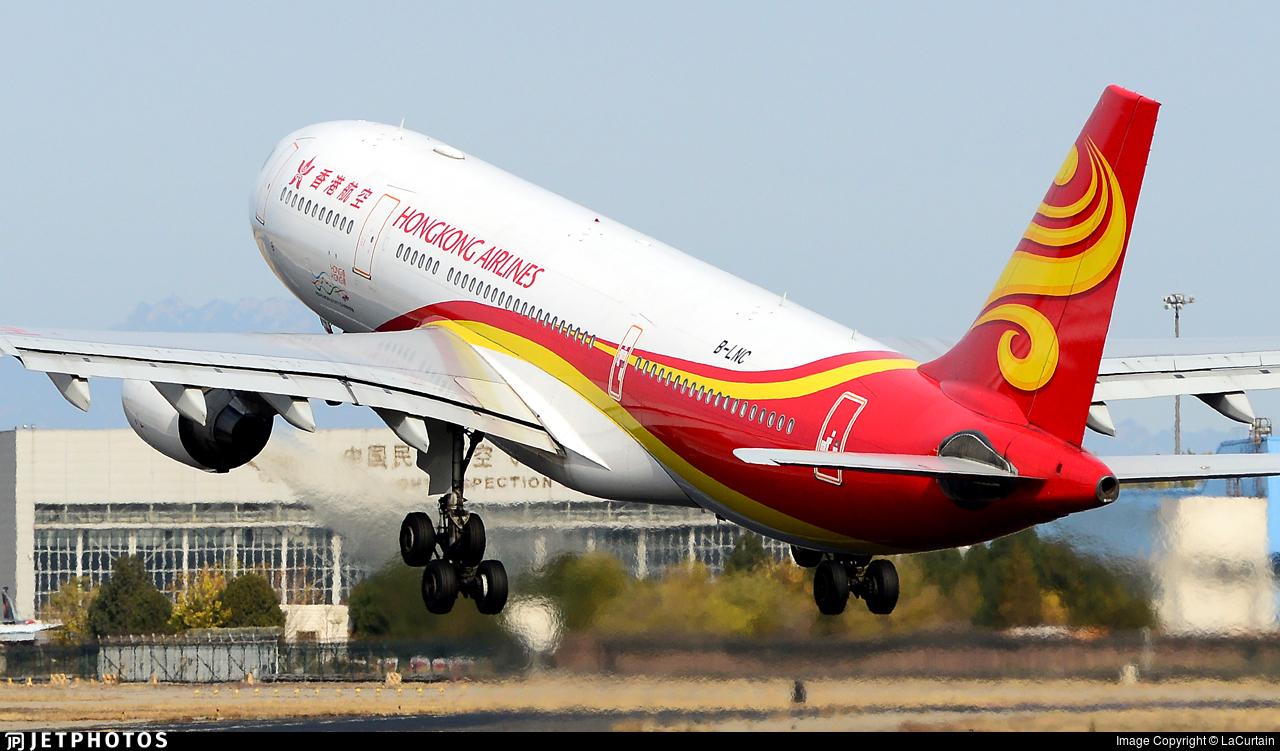B-LNC - Airbus A330-223 - Hong Kong Airlines