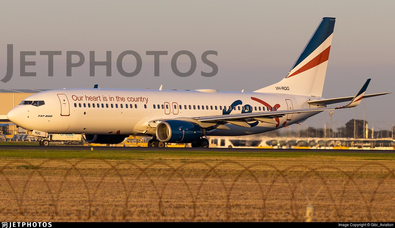 VH-RQG - Boeing 737-8FE - Regional Express (REX)