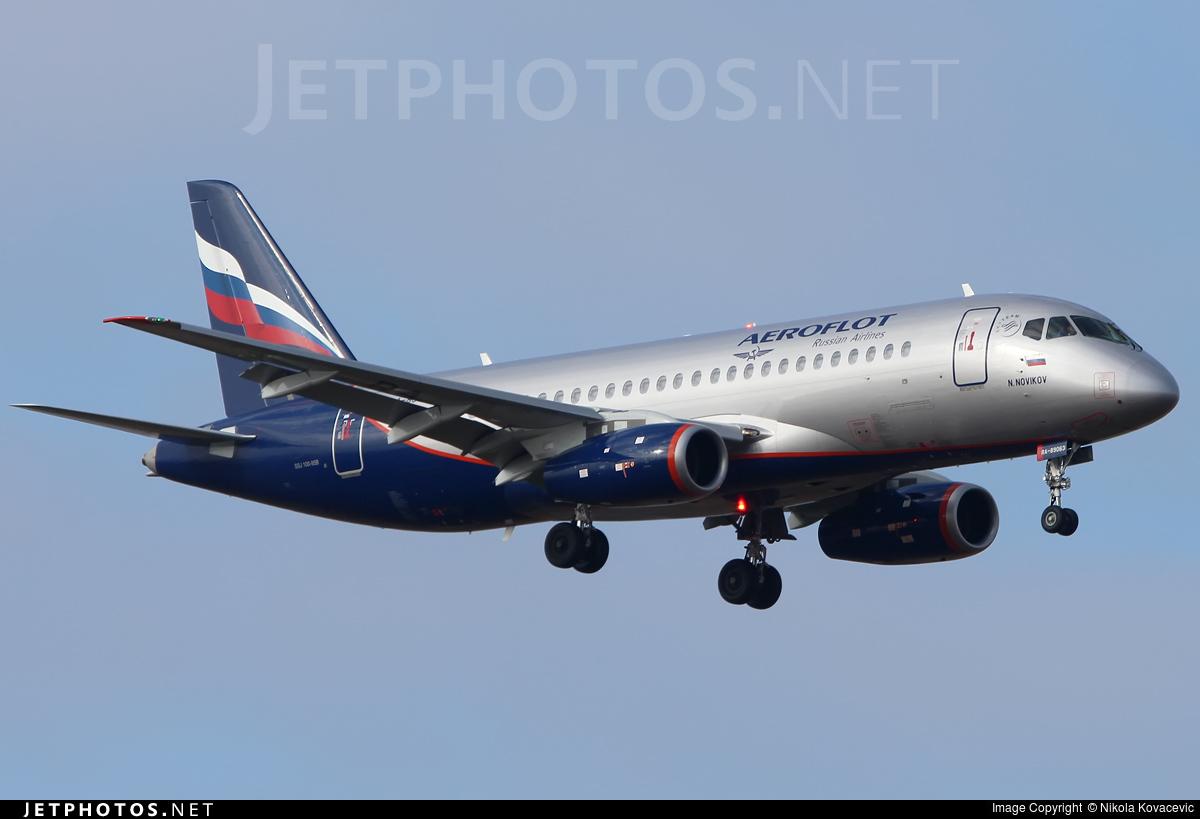 RA-89063 - Sukhoi Superjet 100-95B - Aeroflot