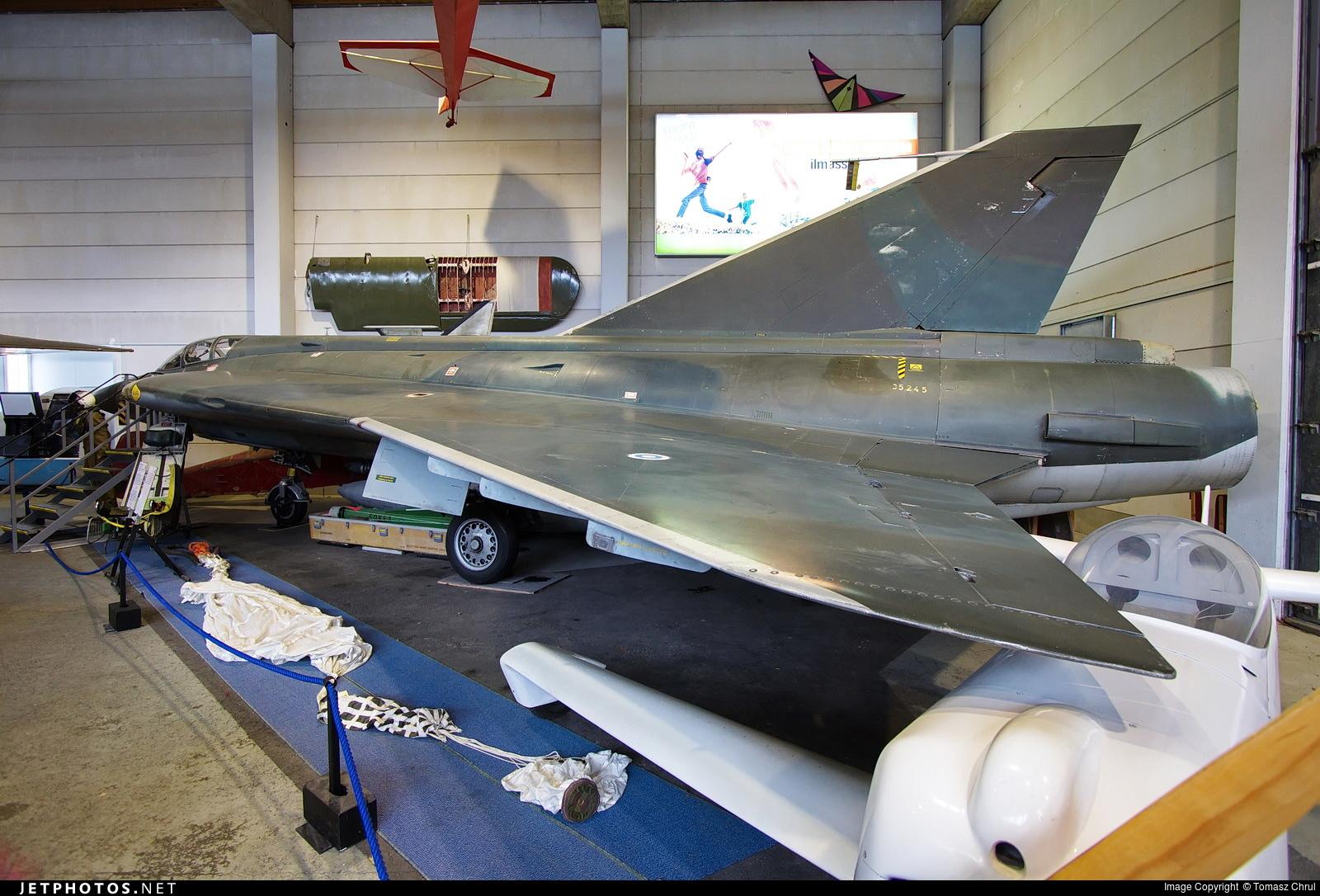 DK-206 - Saab J-35S Draken - Finland - Air Force