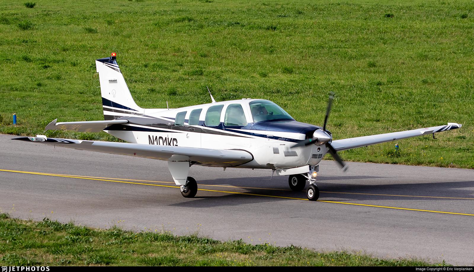 N101KG - Beechcraft B36TC Bonanza - Private
