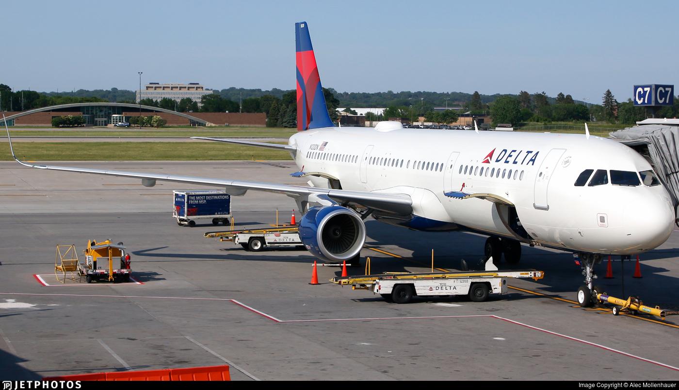 N120DN - Airbus A321-211 - Delta Air Lines