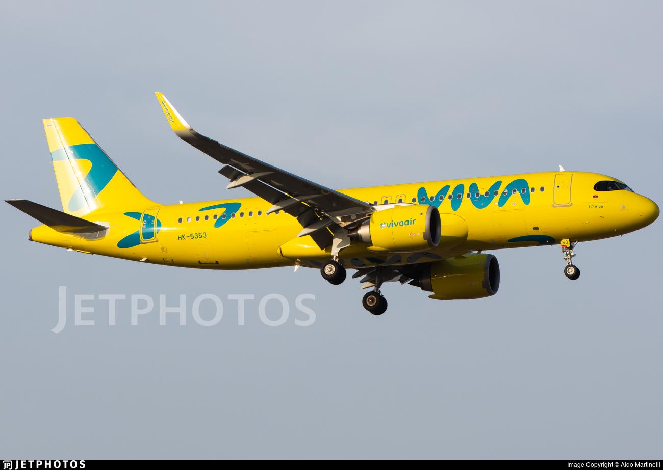 HK-5353 - Airbus A320-251N - Viva Air Colombia