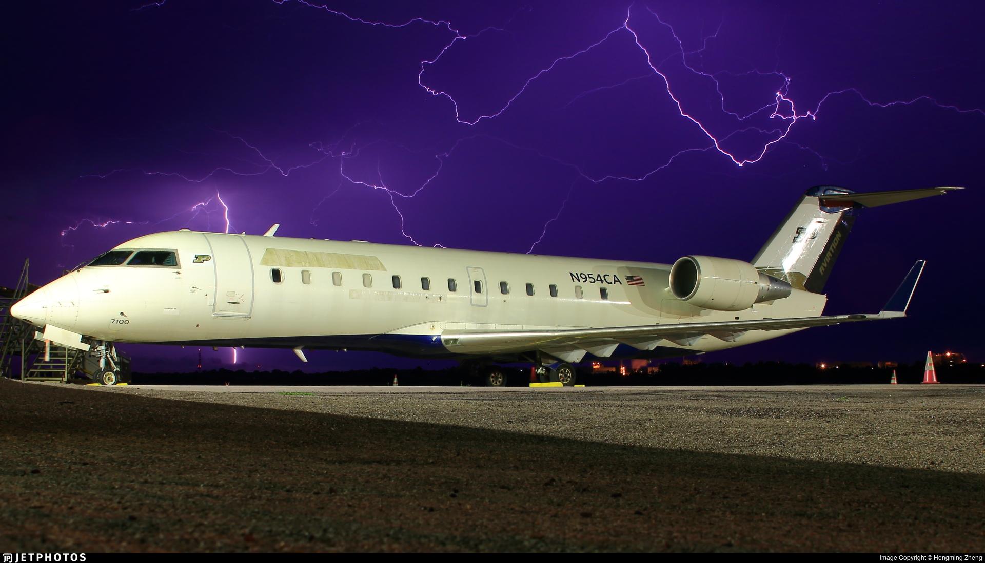 N954CA - Bombardier CRJ-100ER - Purdue University