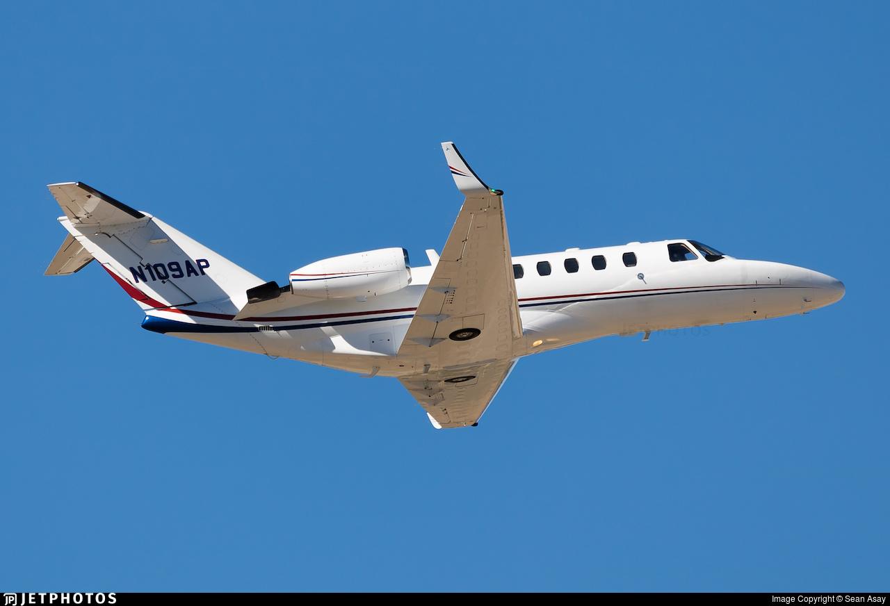 N109AP - Cessna 525A CitationJet CJ2 - Private