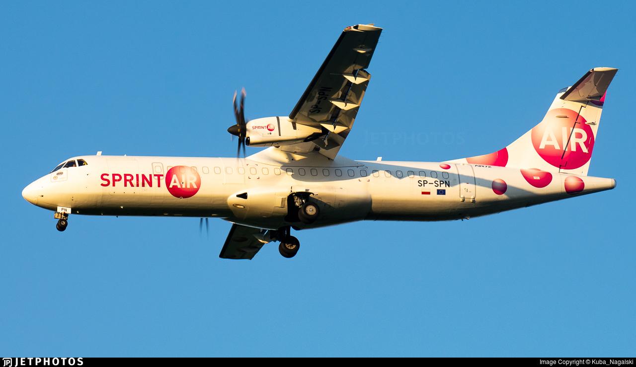 SP-SPN - ATR 72-212A(500)(F) - SprintAir