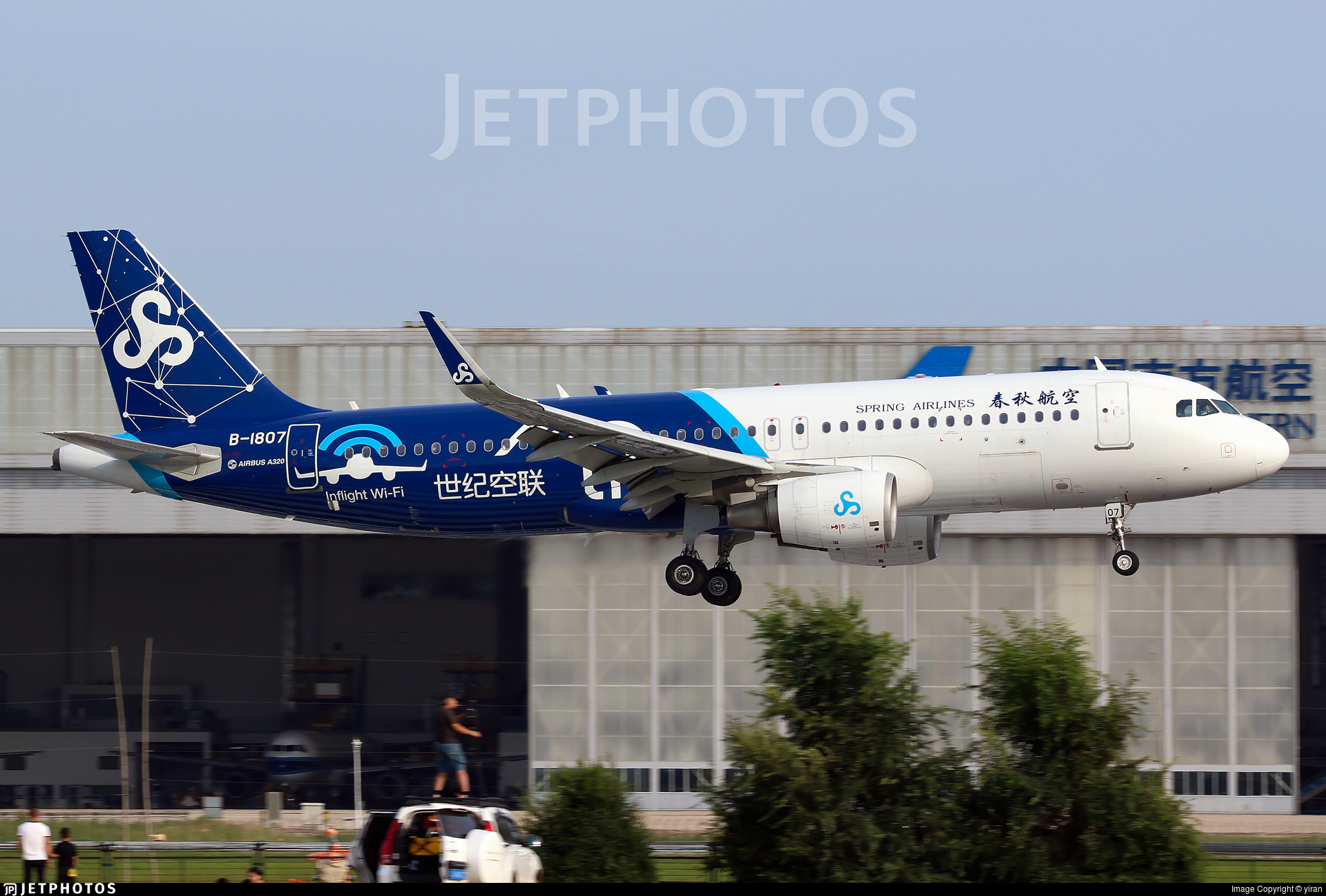 B-1807 - Airbus A320-214 - Spring Airlines