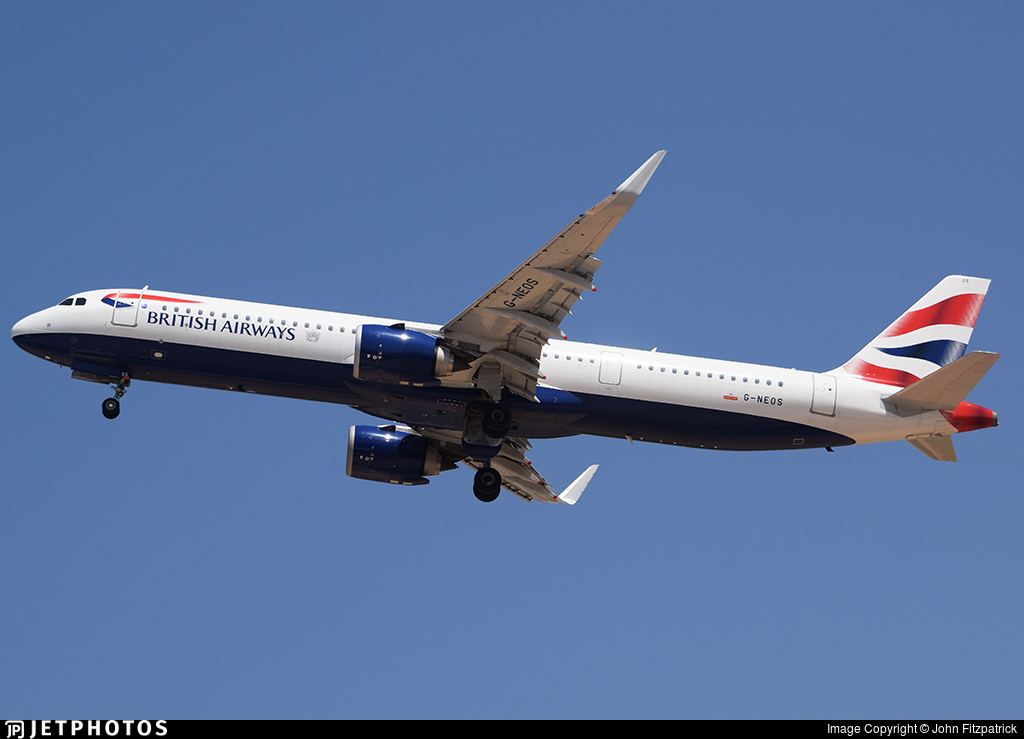 G-NEOS - Airbus A321-251NX - British Airways