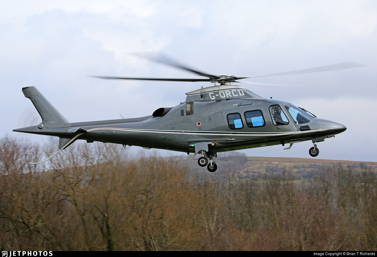 G-ORCD - Agusta A109S Grand - Private