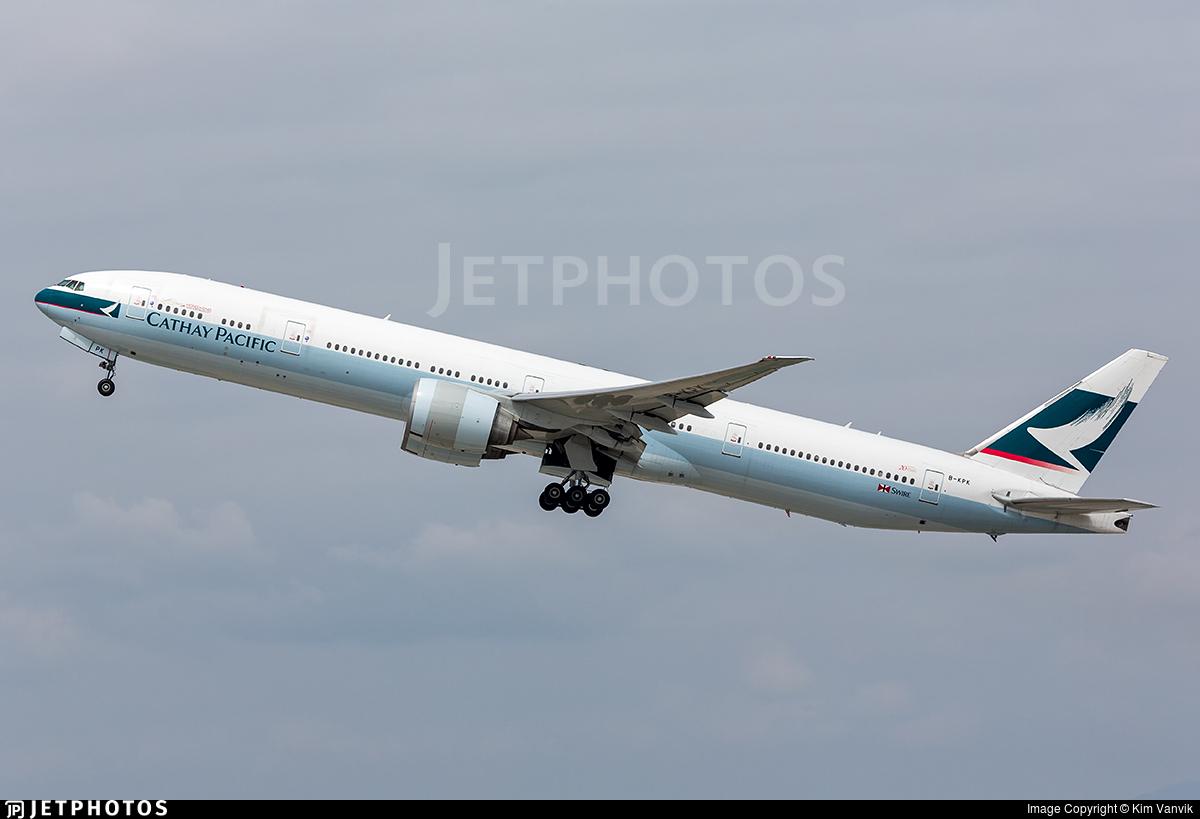 KPK Photo: Cathay Pacific Airways
