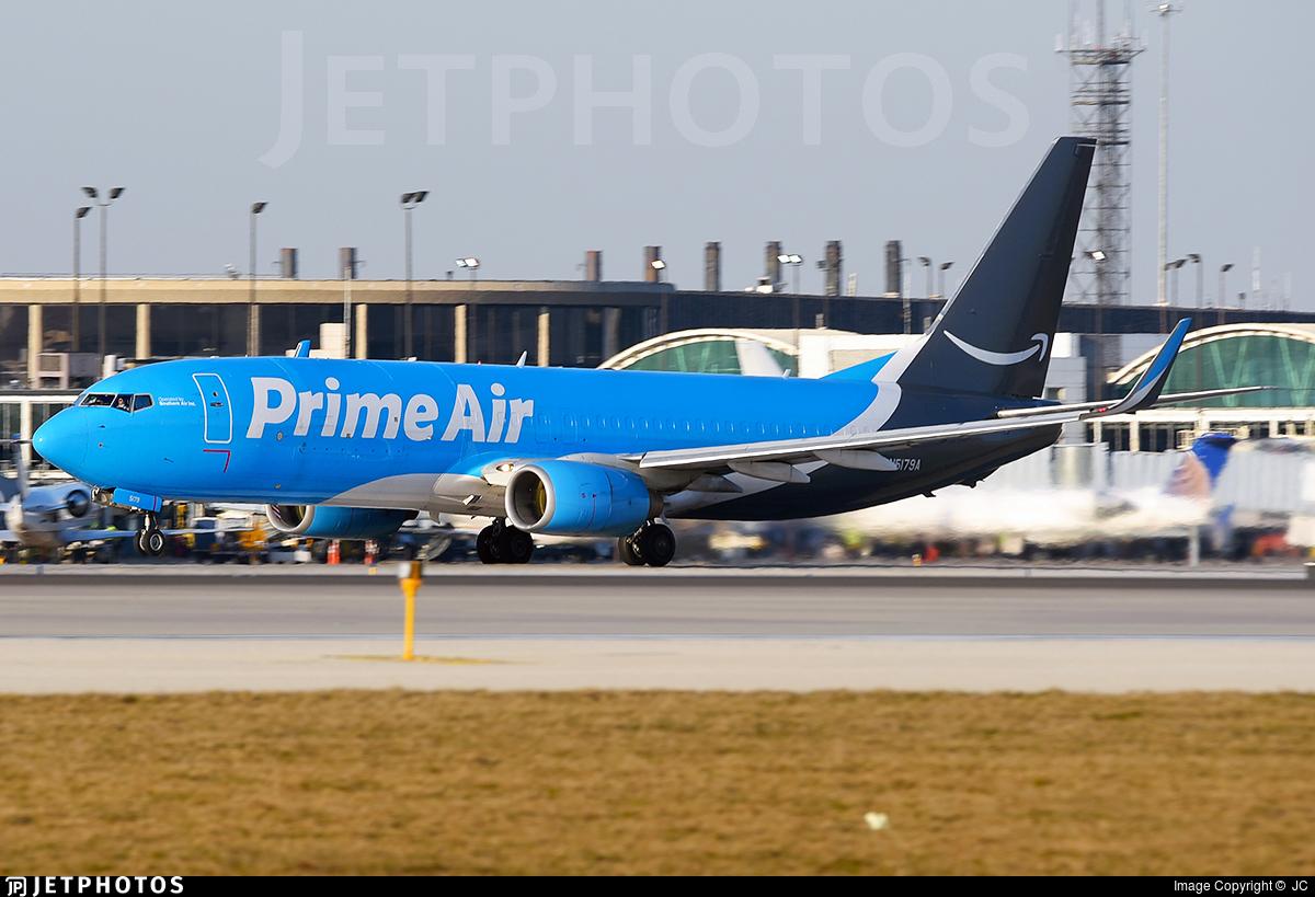 N5179A - Boeing 737-83N(BCF) - Amazon Prime Air (Southern Air)