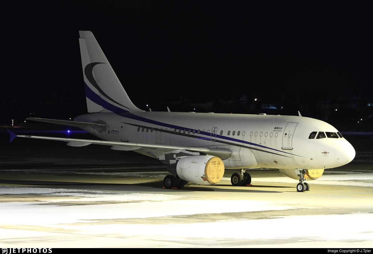 B-77777 - Airbus A318-112(CJ) Elite - Private