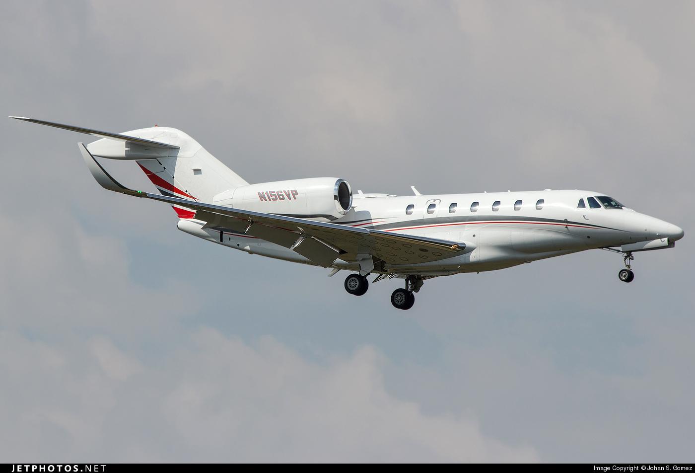 N156VP - Cessna 750 Citation X - Private