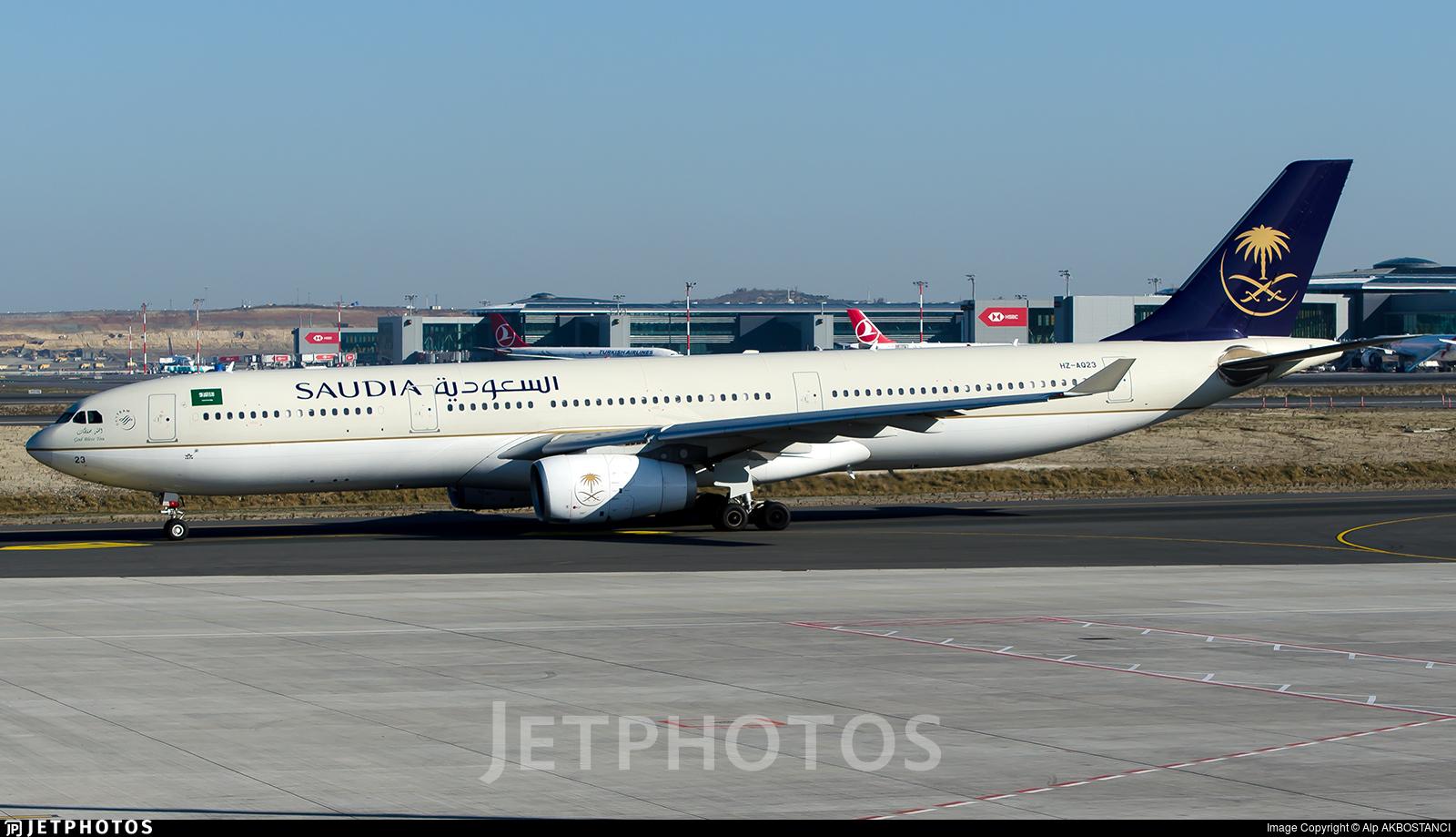 HZ-AQ23 - Airbus A330-343 - Saudi Arabian Airlines