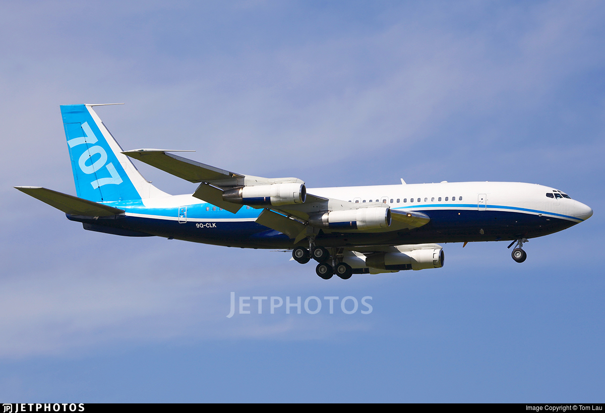 9Q-CLK - Boeing 707-138B - Democratic Republic of Congo - Government