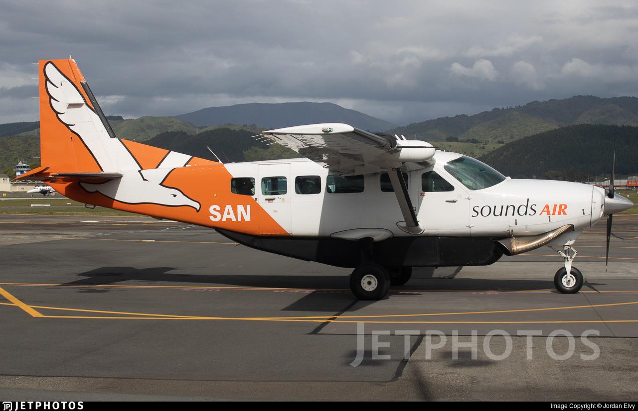ZK-SAN - Cessna 208 Caravan - Sounds Air