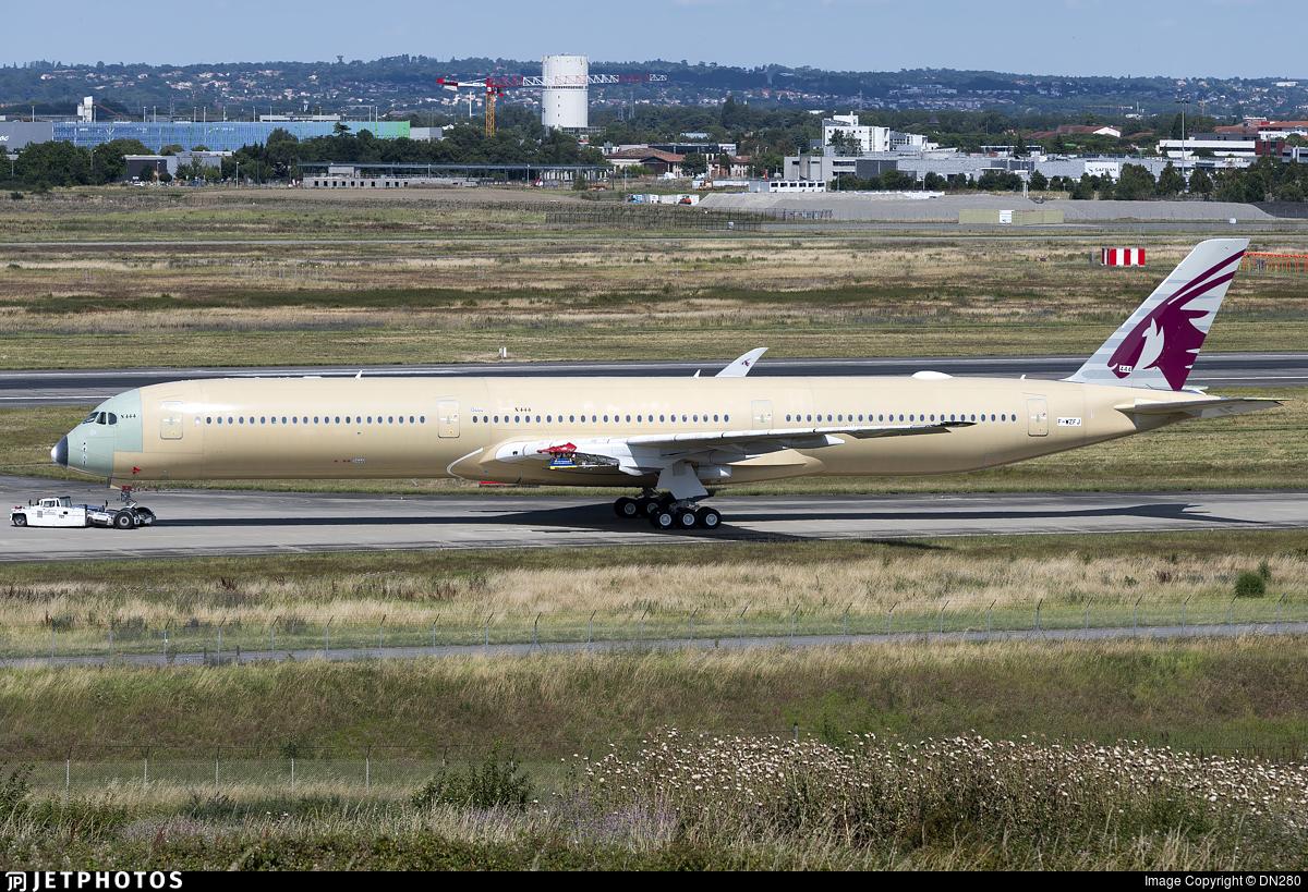 F-WZFJ - Airbus A350-1041 - Airbus Industrie