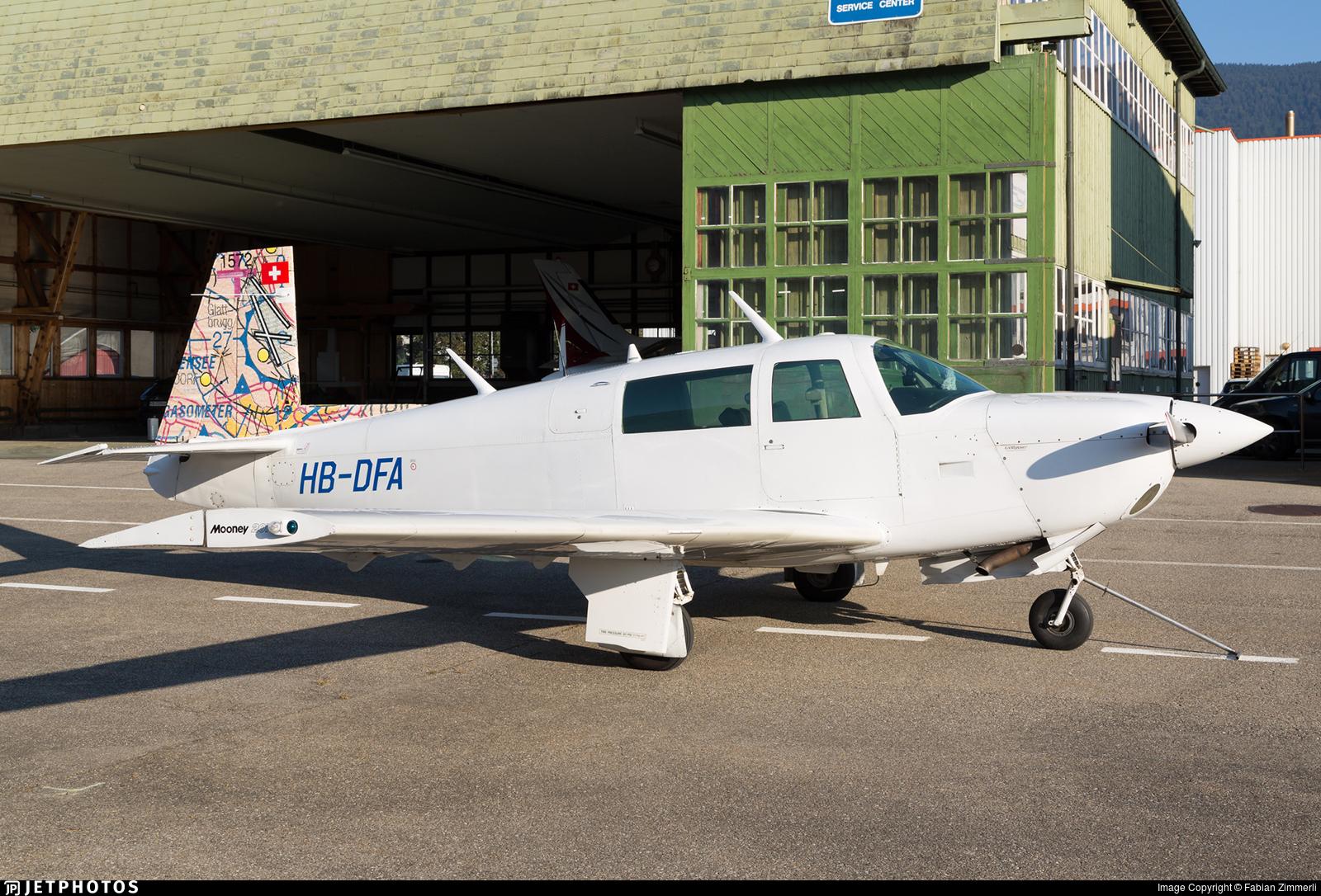 HB-DFA - Mooney M20J-201 - Private
