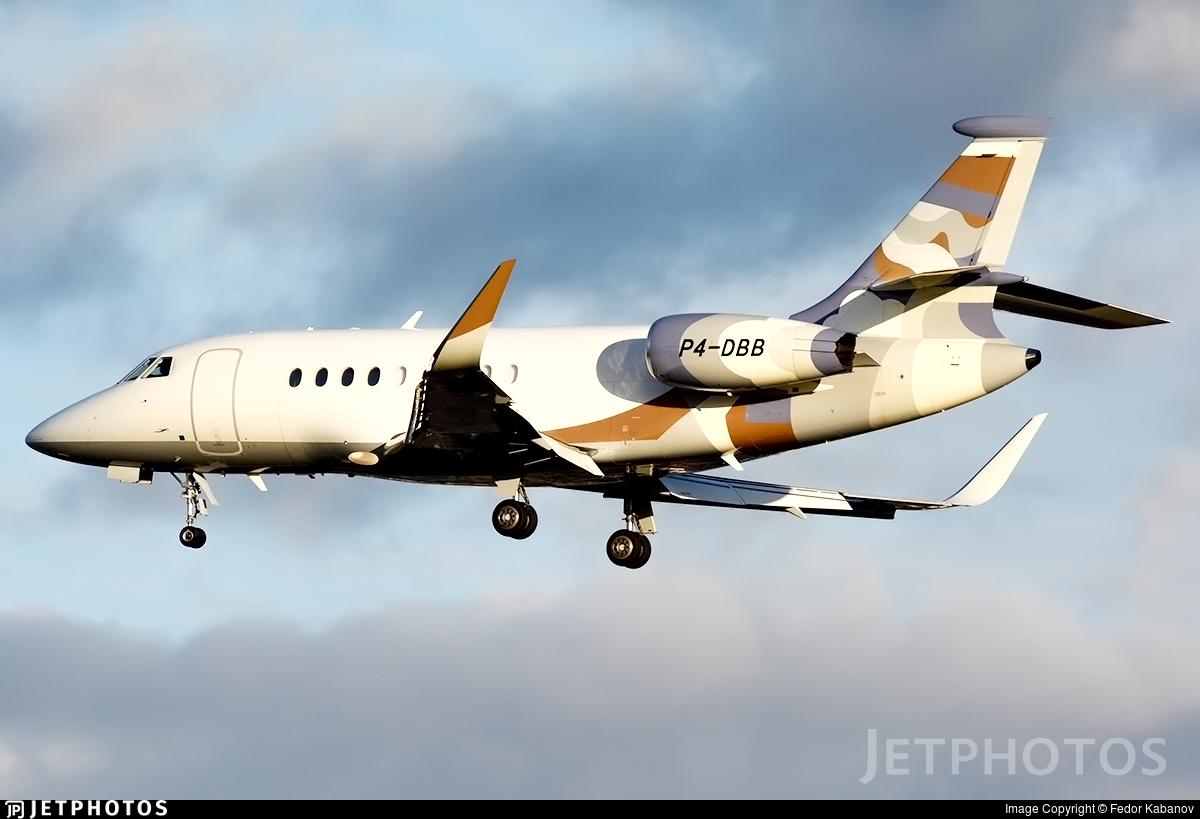 P4-DBB - Dassault Falcon 2000EX - Hyperion Aviation