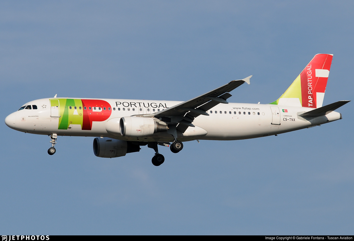 CS-TNX - Airbus A320-214 - TAP Portugal