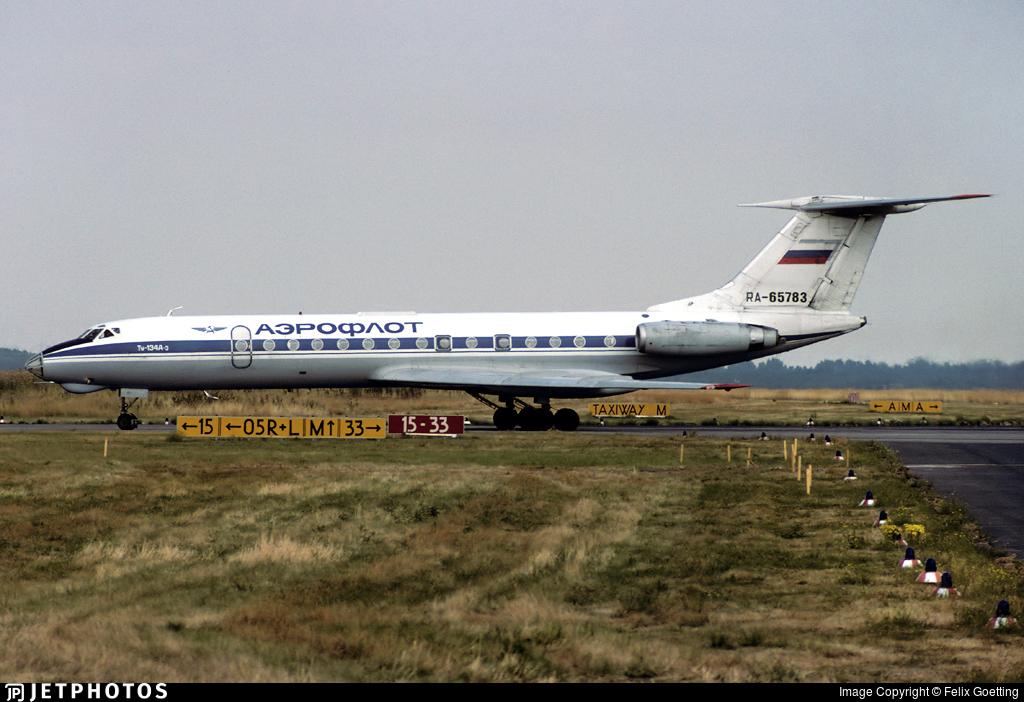 RA-65783 - Tupolev Tu-134A-3 - Aeroflot