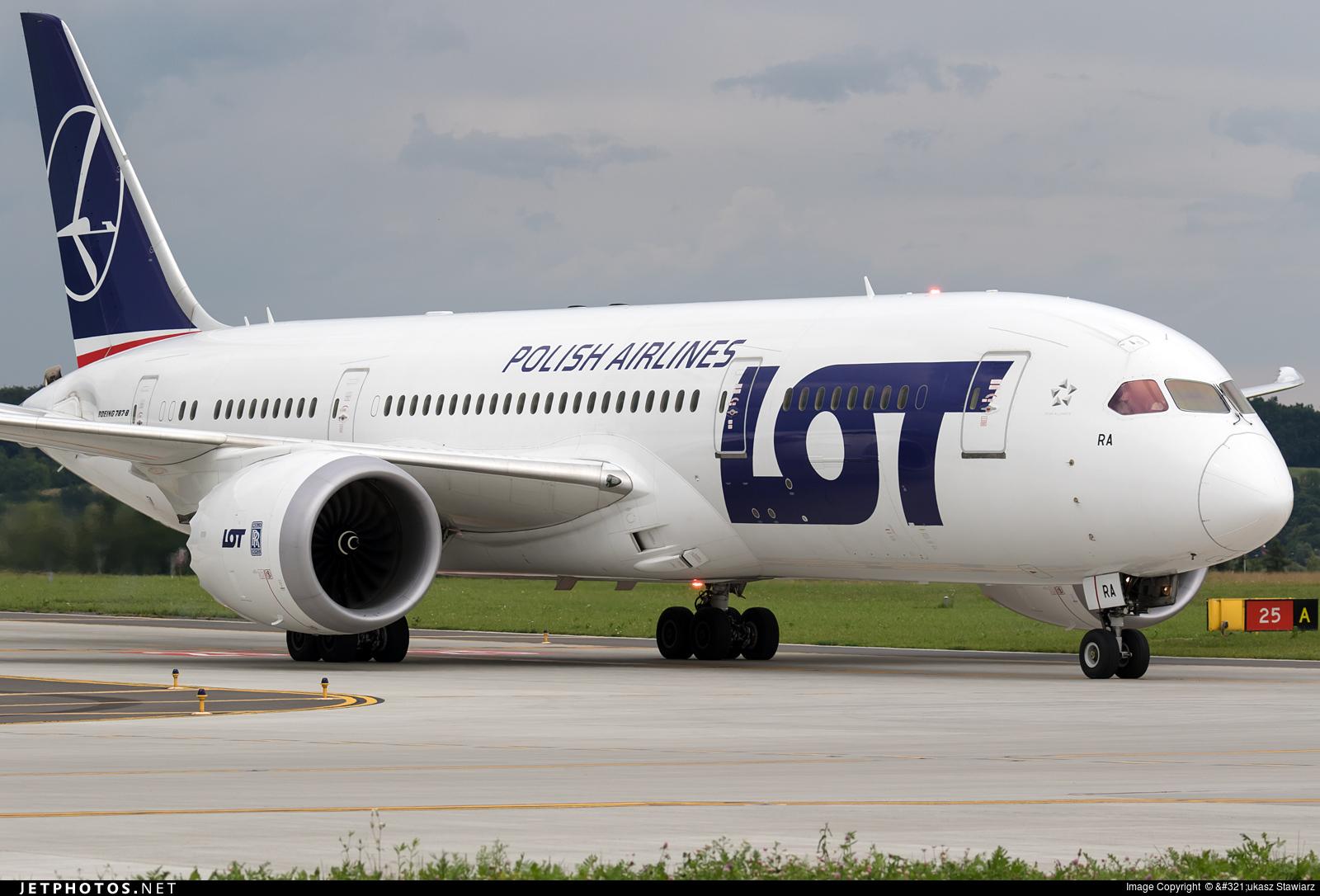 SP-LRA - Boeing 787-8 Dreamliner - LOT Polish Airlines