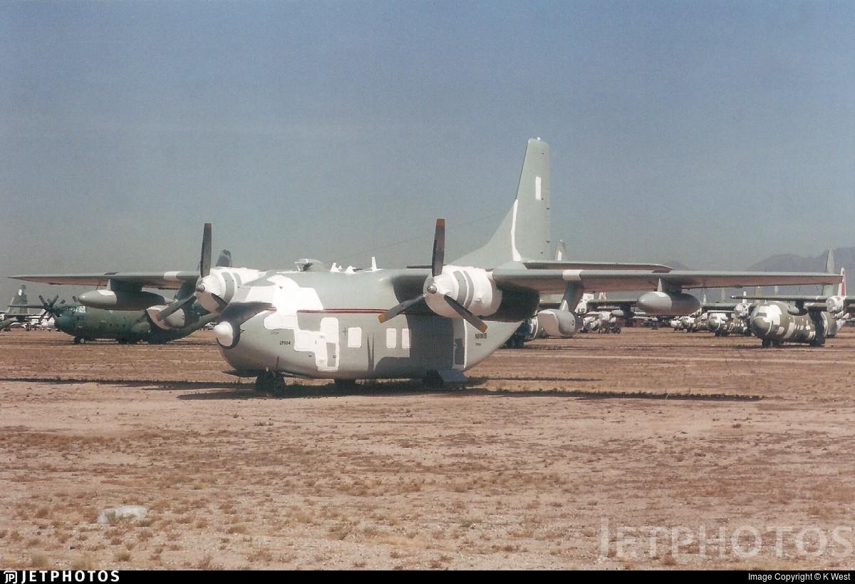 N8190B - Fairchild C-123K Provider - Private