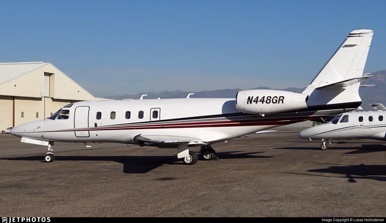 N448GR - IAI 1125 Astra - Private