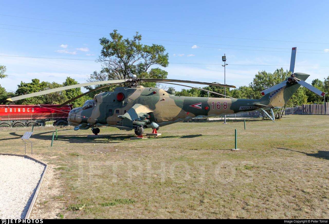 168 - Mil Mi-24D Hind D - Hungary - Air Force
