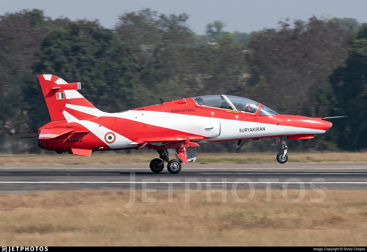 A3682 - British Aerospace Hawk Mk.132 - India - Air Force