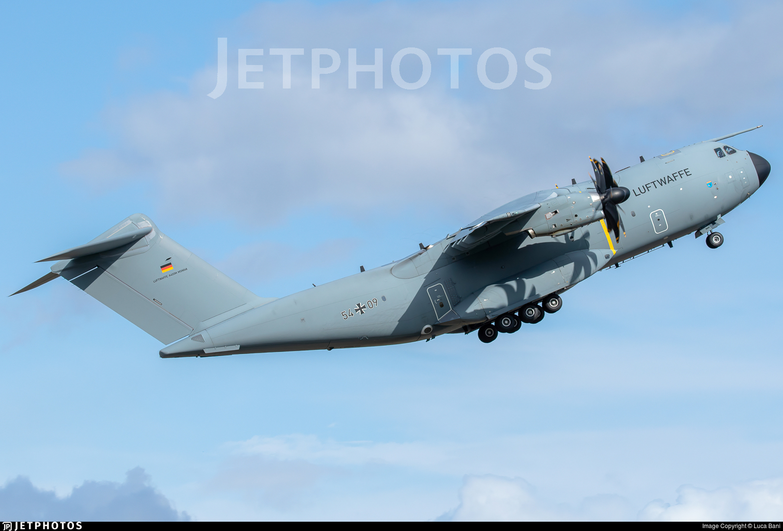 54-09 - Airbus A400M - Germany - Air Force
