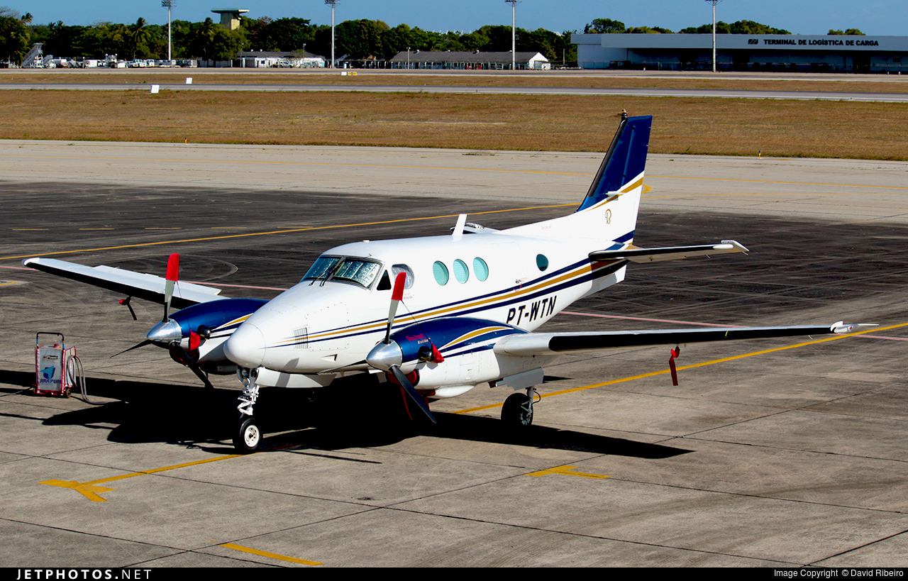 PT-WTN - Beechcraft C90 King Air - Uirapuru Taxi Aéreo