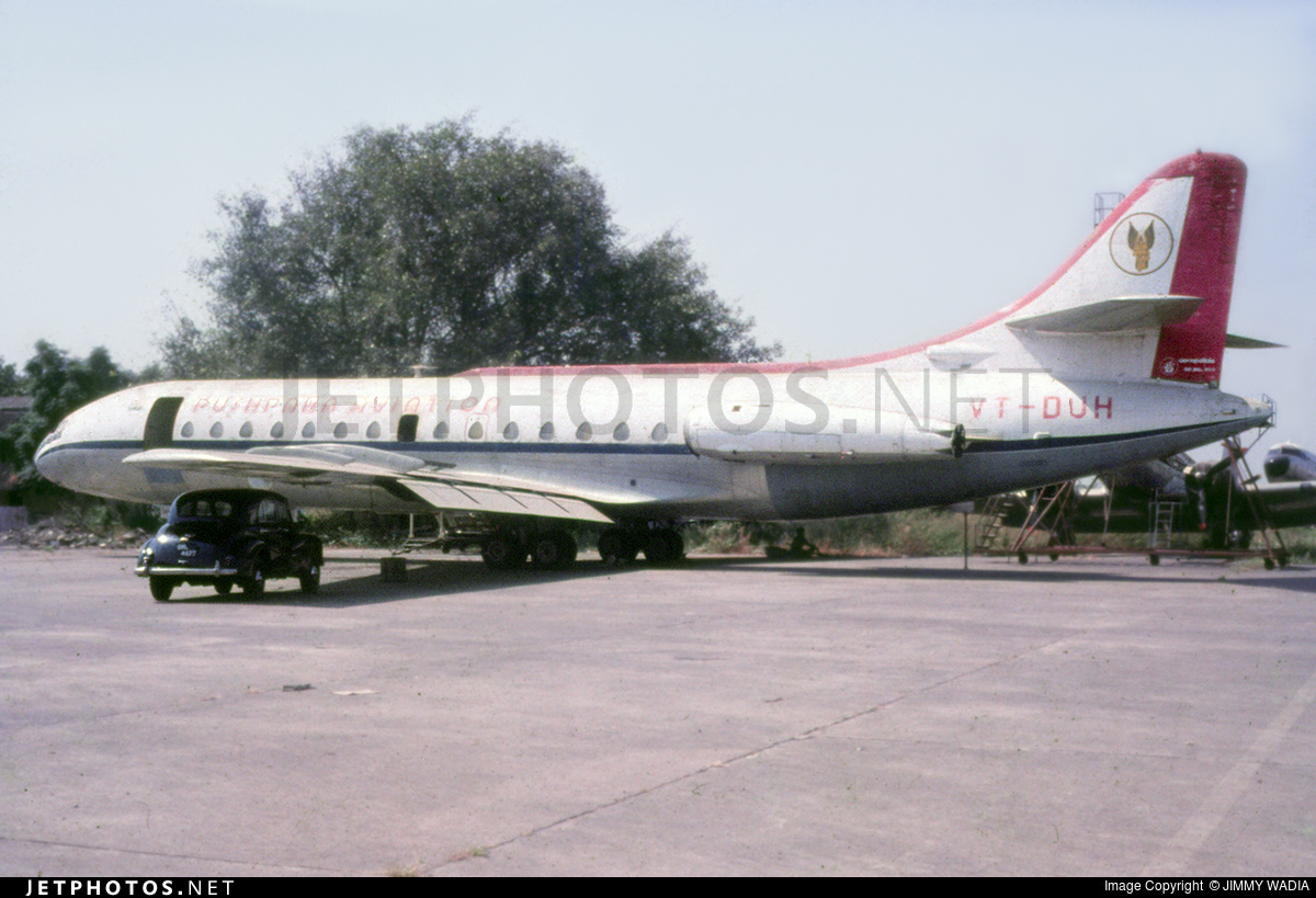 VT-DUH - Sud Aviation SE 210 Caravelle VIN - Pushpaka Aviation