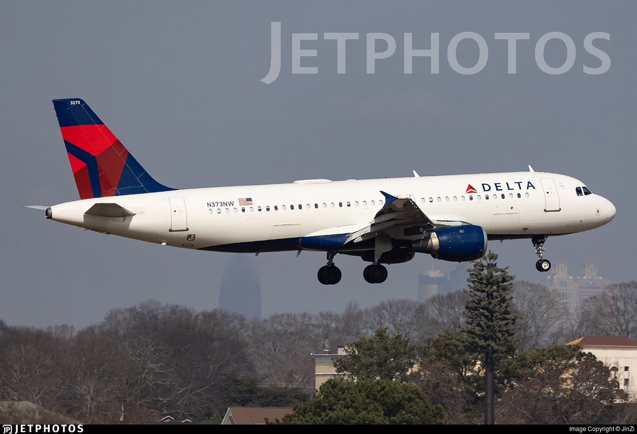 N373NW - Airbus A320-212 - Delta Air Lines